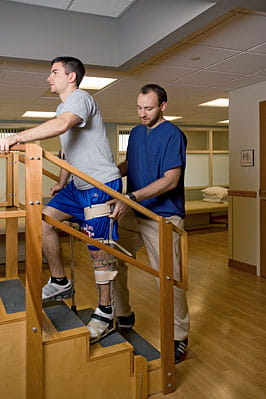 Physical therapy at UPMC Mercy Inpatient Rehab