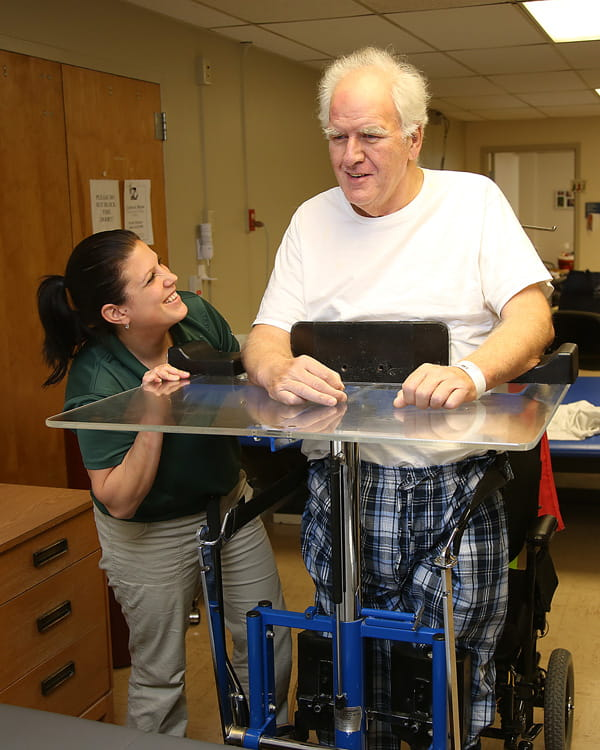 Physical therapy at UPMC Susquehanna inpatient rehab