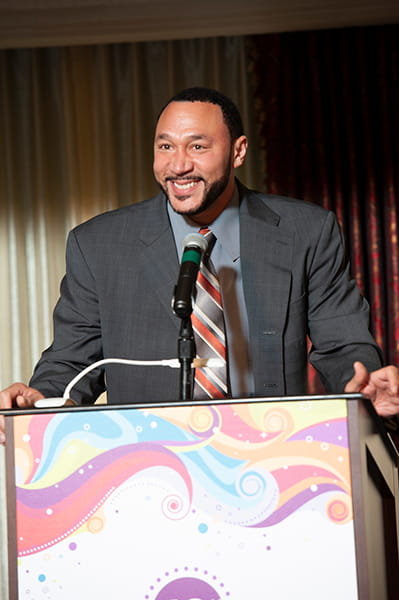 Celebrity master of ceremonies, Charlie Batch