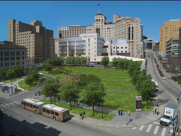 UPMC Oakland Master Plan   Pittsburgh, PA