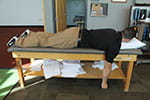 Joe Micca demonstrates prone horizontal abduction - neutral