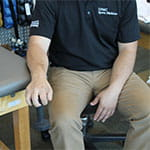 Joe Micca demonstrates supination and pronation