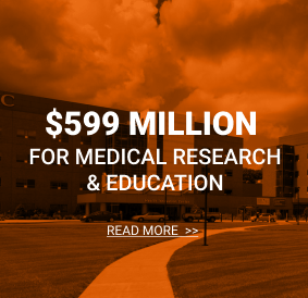 $548 million for medical research & education