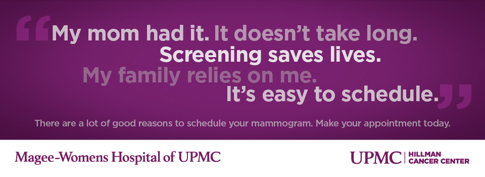 Schedule A Mammogram Today Upmc Pittsburgh Pa