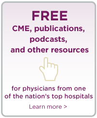 Free CME, publications, podcasts, and other resources for physicians