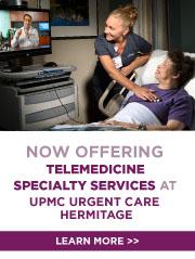 Teleconsult Center at UPMC Urgent Care Hermitage