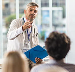 Doctor lecturing | UPMC Classes, Events, and News