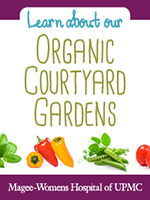 Learn about the Magee-Womens Organic Garden