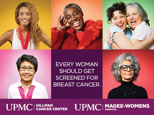 Every woman should get screened for breast cancer.