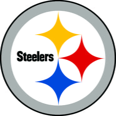 Steelers logo.