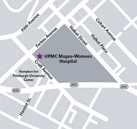 Map and Directions to the Emergency Department