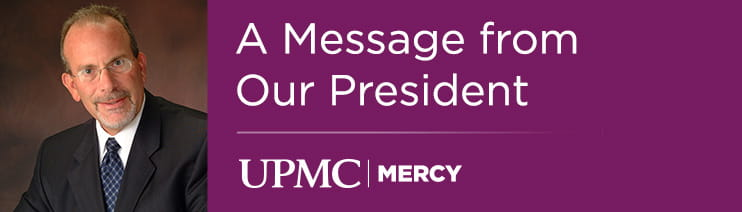 A Message from Our President Banner
