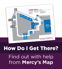 Directions to UPMC Mercy and Parking Available