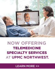 UPMC Teleconsult services at UPMC Northwest Information