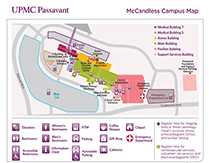 Mercy Hospital Campus Map.Mccandless Campus Map