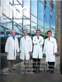 North Hills Monthly Magazine - July 2016, featuring UPMC Heart and Vascular Institute
