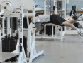 Inside a rehabiliation gym