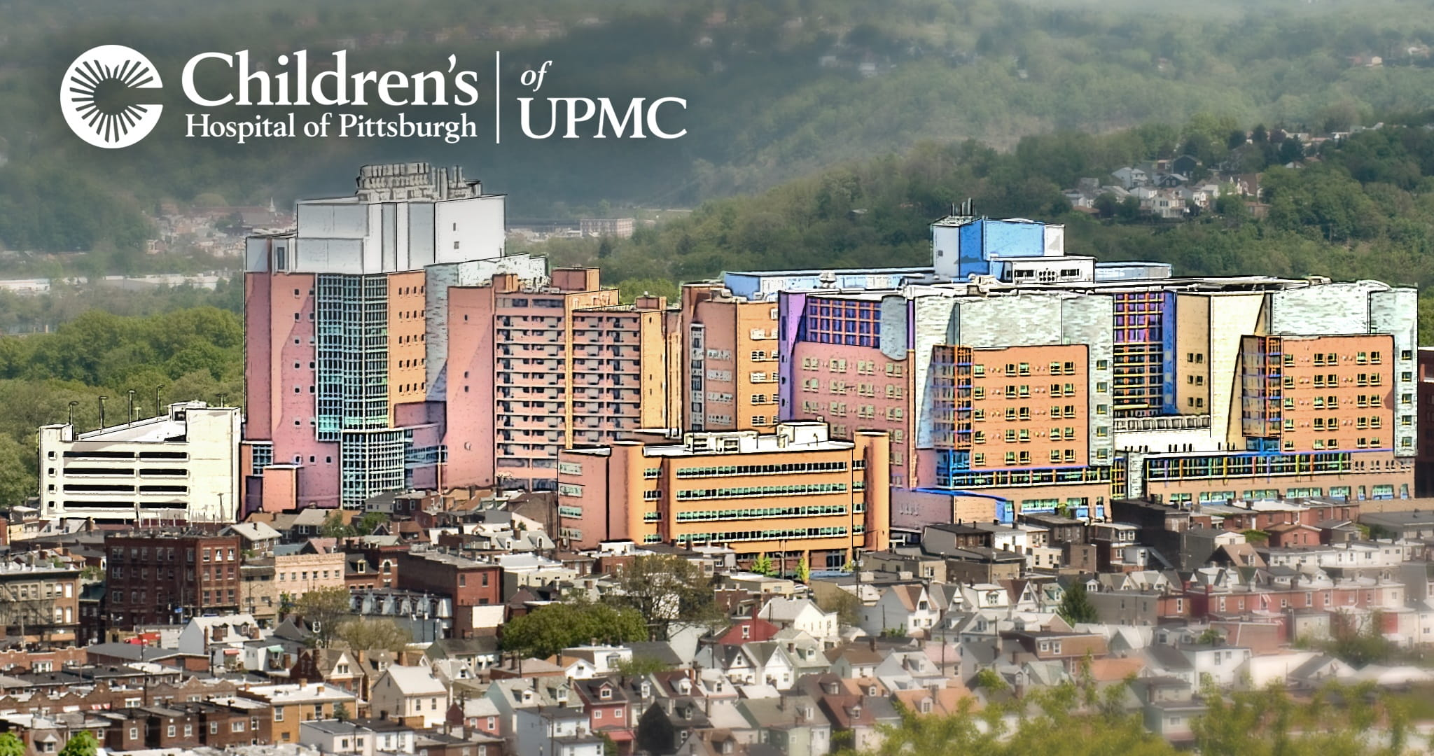Children's Hospital of Pittsburgh of UPMC artist rendering