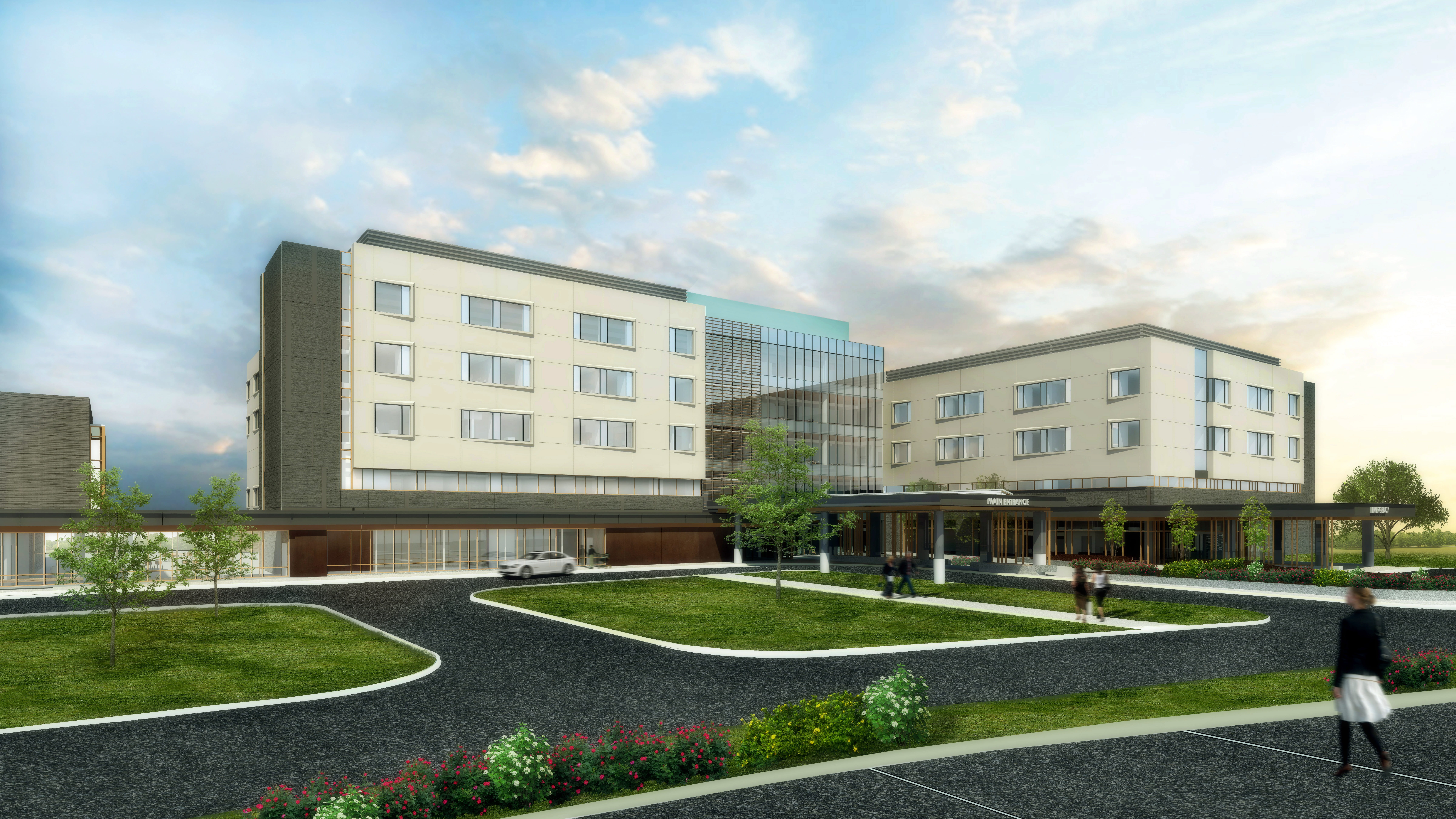 Construction of UPMC Pinnacle Memorial Replacement Hospital