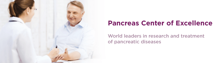 World leaders in research and treatment of pancreatic diseases.