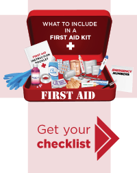 How to stock a first aid kit