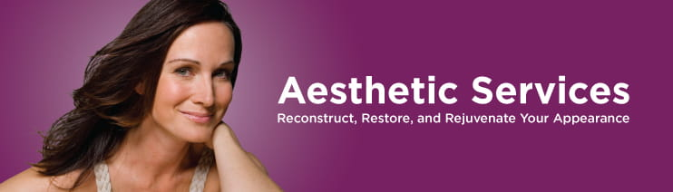 Aesthetic Services Banner