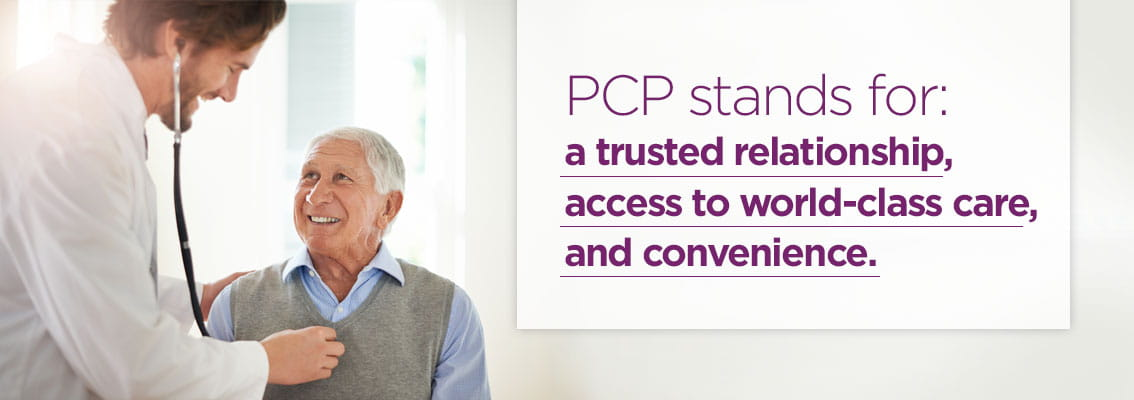 Primary care at UPMC: a trusted relationship, access to world class care, and convenience.