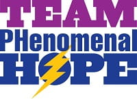 Team Phenomenal Hope website - pulmonary hypertension awareness charity
