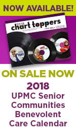 2018 UPMC Senior Communities Benevolent Care Calendar - Now Available