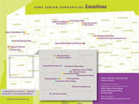 View the UPMC Senior Communities Location Guide