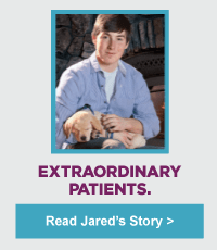 Extraordinary Patients. Read Jared's Story